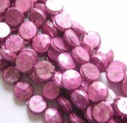 画像1: Metal Pink Nailhead 6mm(10個入り)